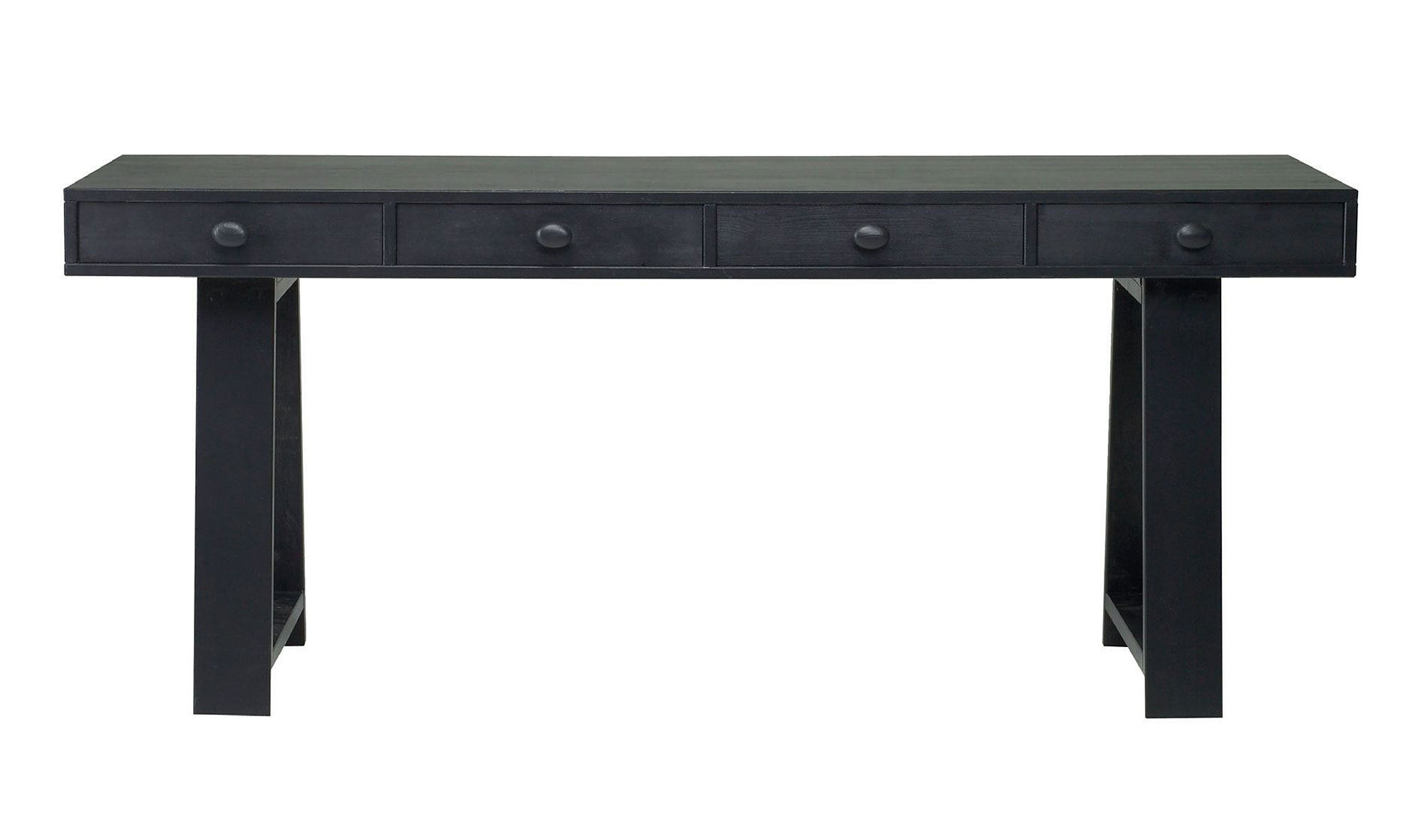 Mesa escritorio negra Hamar no disponible en Portobellostreetes