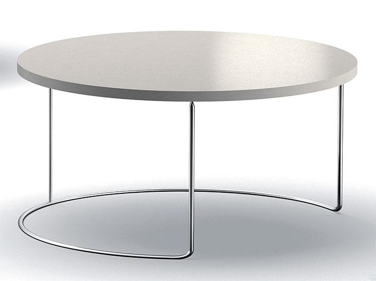 Mesa de centro redonda moderna Fred