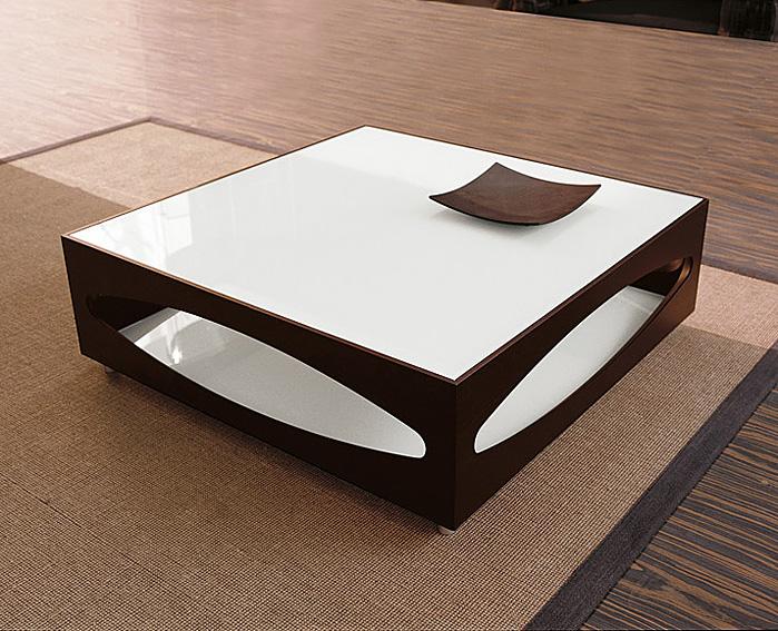 Mesa de centro moderna cuadrada osowa tonin casa en for Mesas de comedor cuadradas modernas