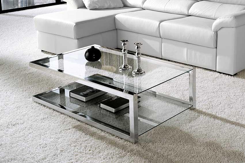 Mesa de centro moderno dalia en - Mesas de centro de cristal modernas ...
