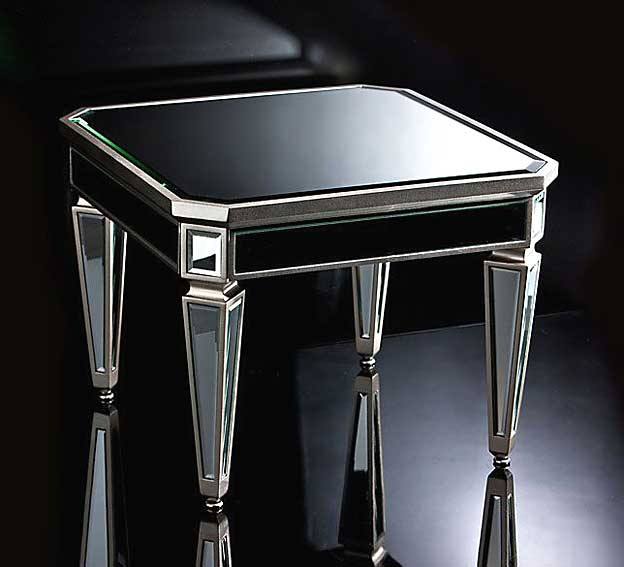 Mesa de centro espejo la rochelle no disponible en for Espejos para mesa