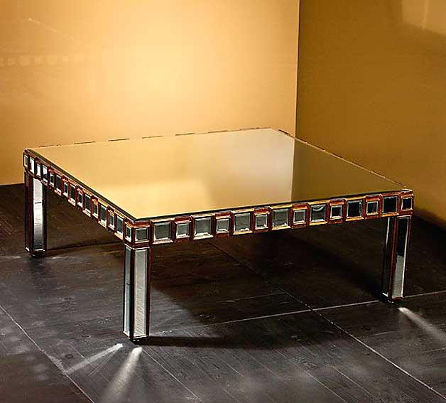 Mesa de centro espejo lille no disponible en for Espejos para mesa