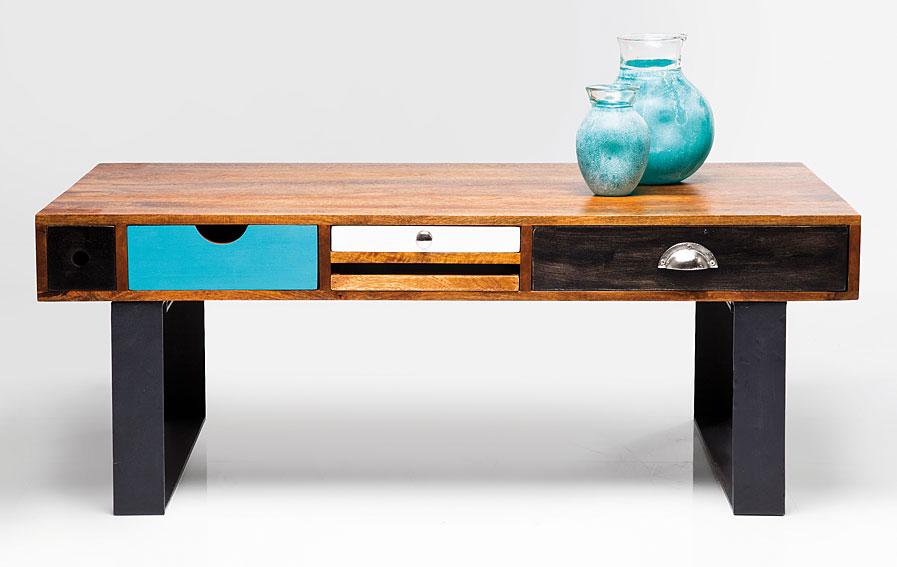 Mesa de centro vintage babalou no disponible en for Malibu muebles