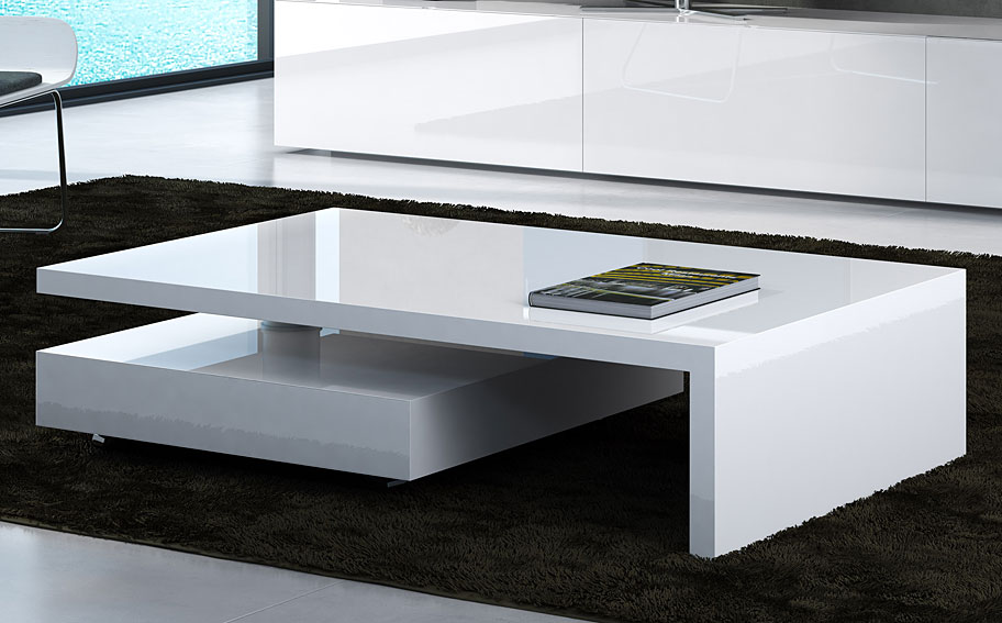 Mesa de centro moderna giro no disponible en for Mesas para muebles modernas