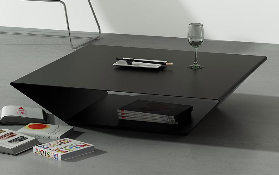 Mesa de centro moderna trapezze no disponible en Mesas extraibles salon