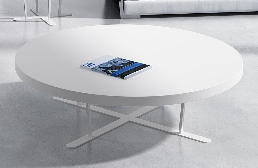 mesa de centro redonda moderna cruz no disponible en