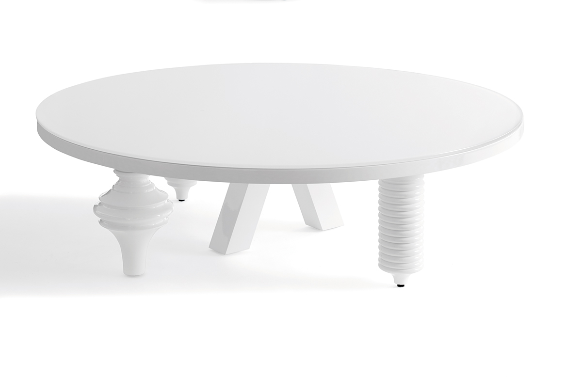 Mesa de centro redonda moderna multileg en - Mesa centro redonda ...