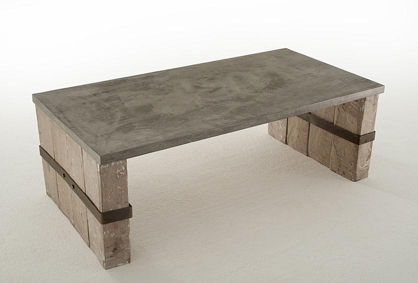 Mesa de centro microcemento fina olivino en - Muebles tapa tapa ...
