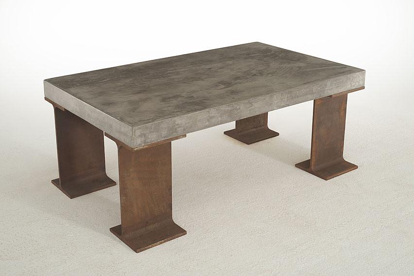Mesa centro microcemento gruesa distena en cosas de arquitectoscosas de arquitectos - Muebles tapa tapa ...