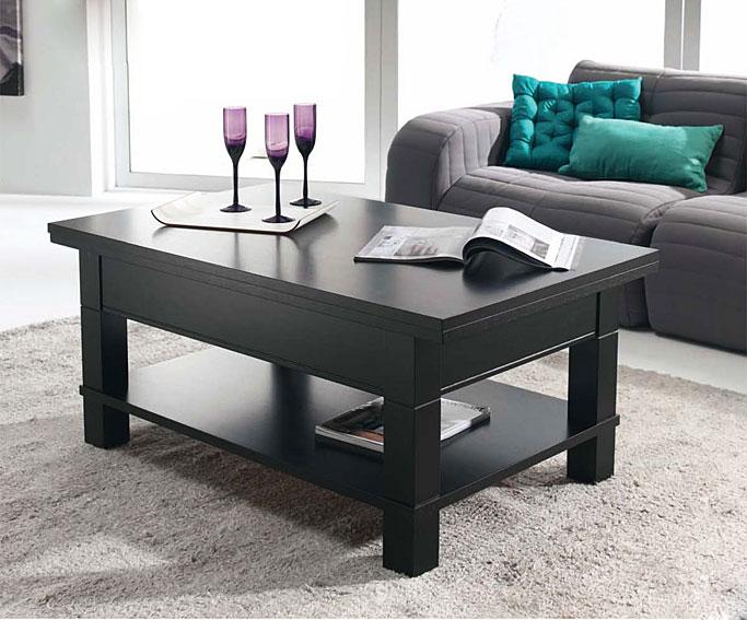 Mesa de centro convertible en mesa de comedor angoul me - Mesa centro convertible en mesa comedor ...
