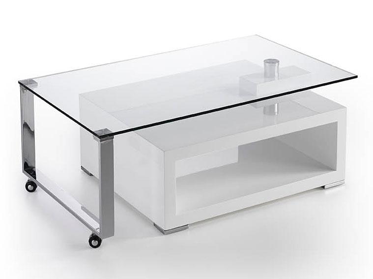 Mesa de centro xenon no disponible en - Mesas cristal templado ...