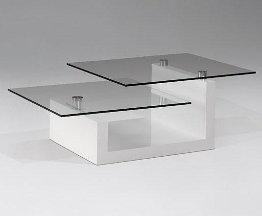 Mesa de centro upton de cristal no disponible en for Muebles de cristal