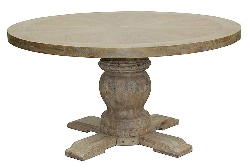 Mesa de comedor redonda vintage carcasona no disponible en - Mesa redonda vintage ...