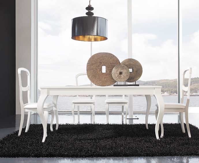 Centros de mesa para salon comedor good ideas originales for Mesas de centro comedor