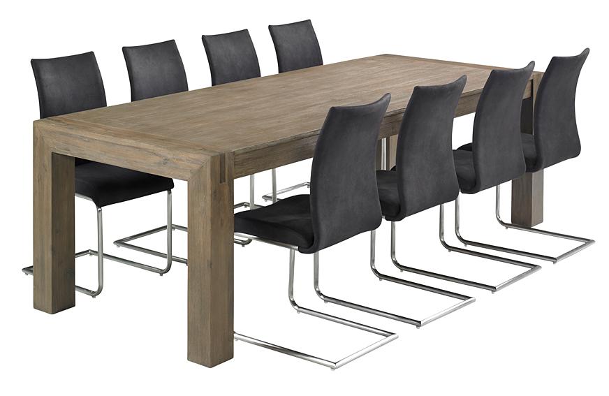 Mesas de comedor grandes cheap mesa comedor extensible - Mesas grandes de comedor ...