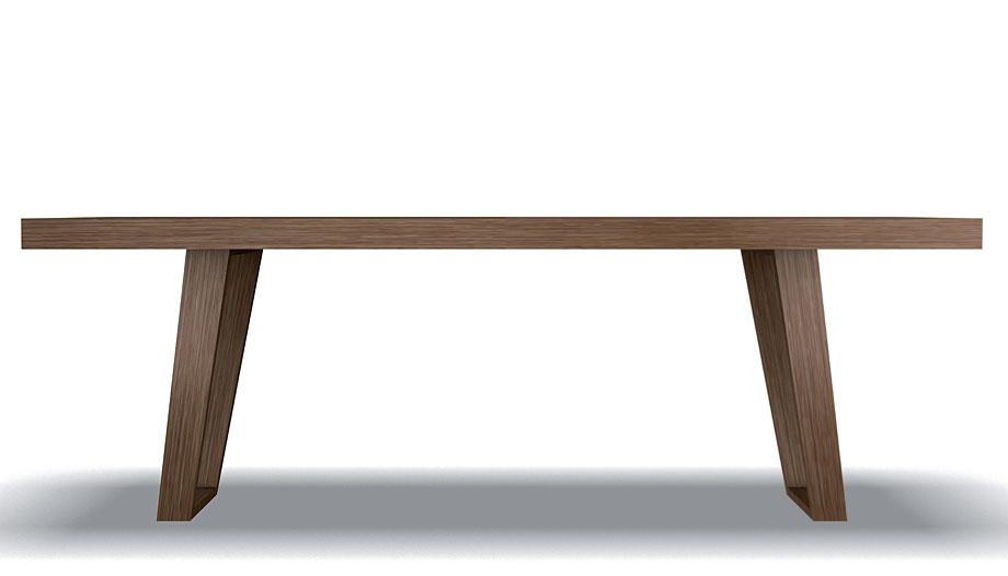 Mesa comedor extensible moderna benedict en cosas de for Mesas de comedor grandes de madera