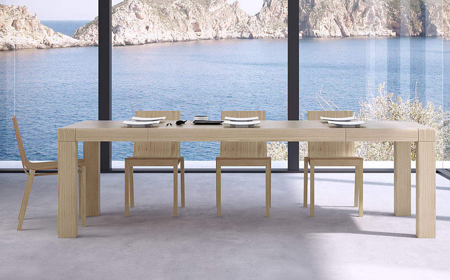 mesa de comedor extensible moderna roll no disponible en