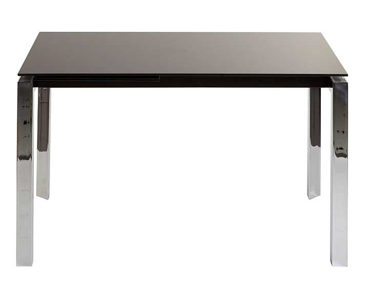 Mesa de comedor extensible negra sink no disponible en for Mesa comedor negra