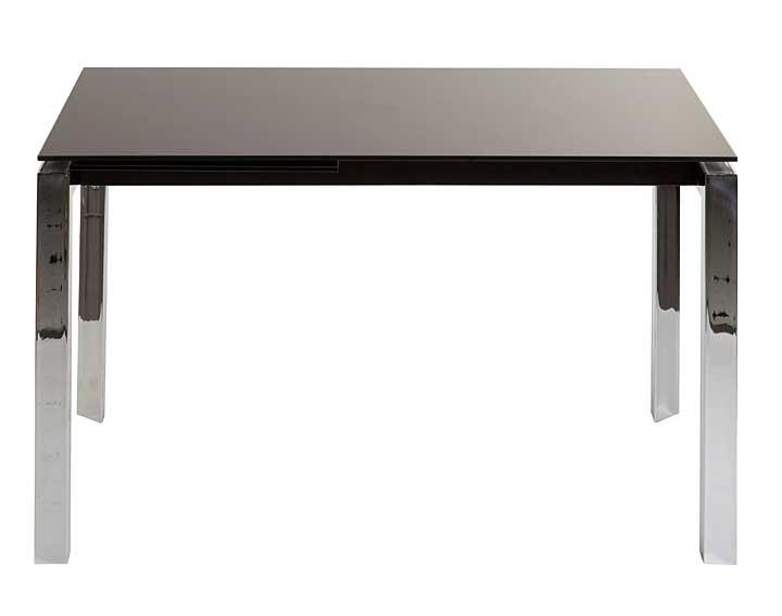 Mesa de comedor extensible negra sink no disponible en for Mesa comedor negra