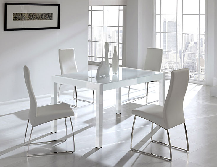 Mesa de comedor extensible sulcis no disponible en - Mesas de comedor modernas extensibles ...