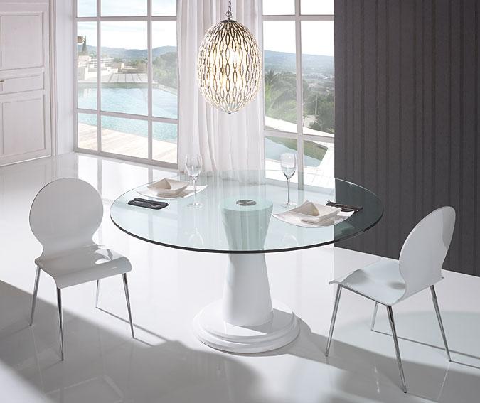Mesa de comedor moderna dubo en for Decoracion comedor moderno