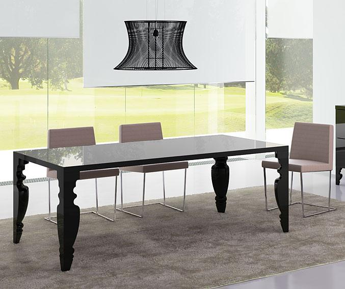 Mesas de comedor modernas muebles lluesma share the - Mesas auxiliares comedor ...