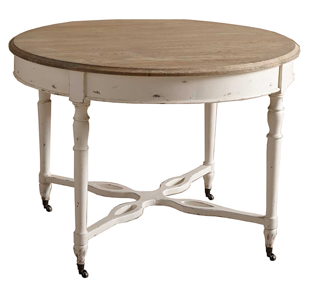 Mesa de comedor redonda lecale no disponible en - Mesa redonda de comedor extensible ...