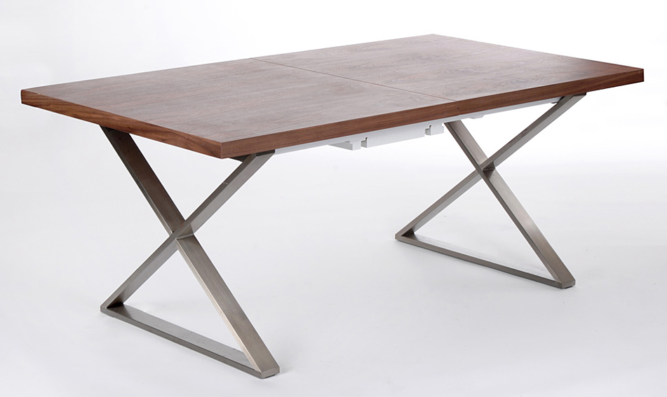 Mesa de comedor extensible moderna woody no disponible en - Mesas de comedor modernas extensibles ...