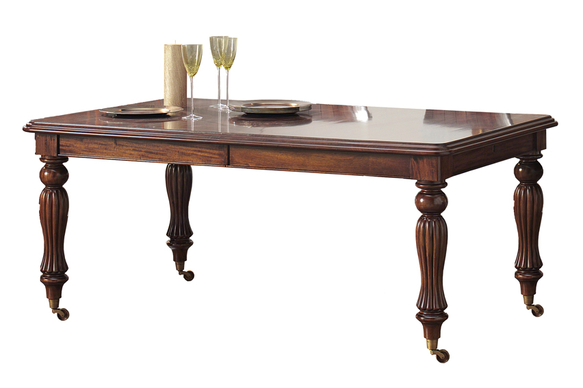 Mesa Comedor Extensible Victoriana No Disponible En