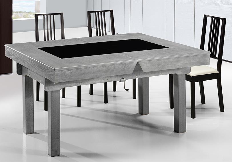 mesa de comedor futboln moderna banche