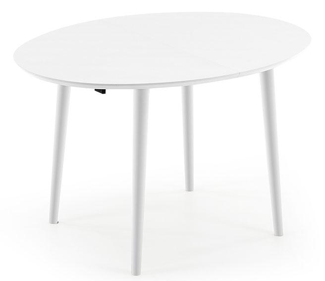 Mesa de comedor ovalada blanca moderna oqui no disponible for Mesa comedor ovalada blanca