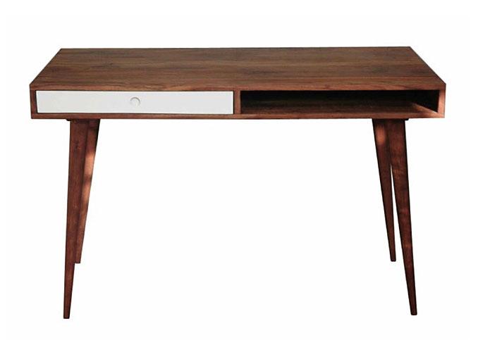 Mesa de escritorio blanca vintage jeyo no disponible en - Escritorio vintage ...