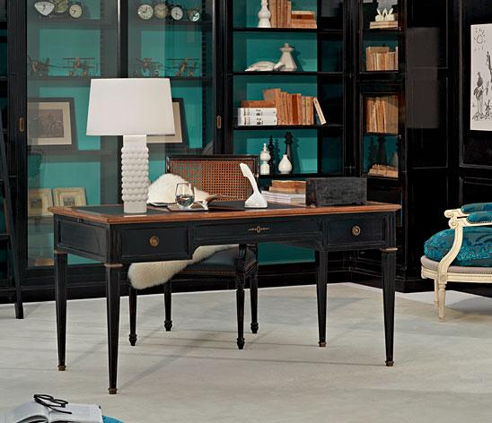 Mesa de escritorio vintage directoire en cosas de - Mesa escritorio clasica ...