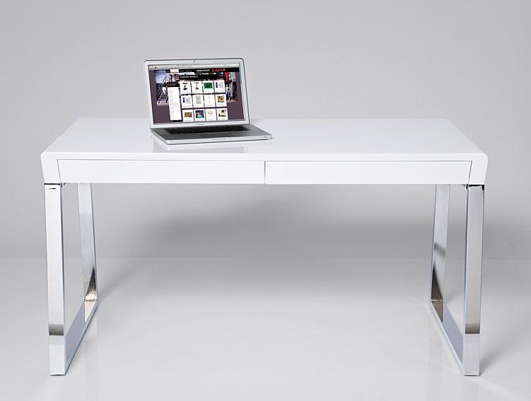 Mesa de escritorio moderno lerma en - Mesas de despacho de cristal ...