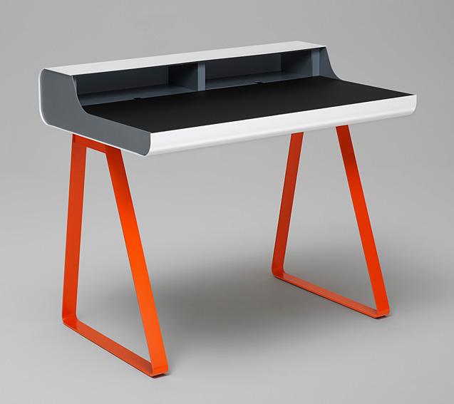 Mesa de escritorio moderna francfort en cosas de for Mesas escritorio modernas
