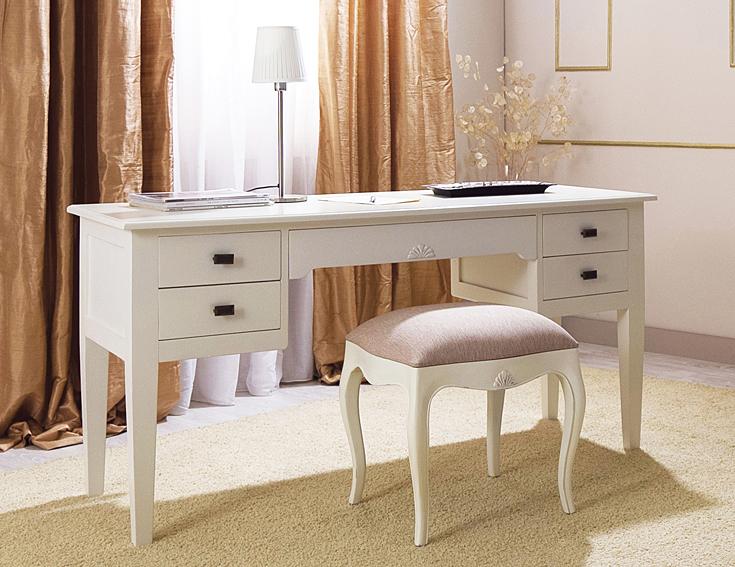 mesa escritorio 5 cajones vintage par s en