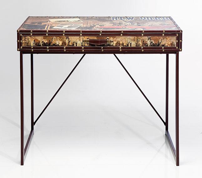 Mesa de escritorio vintage new york no disponible en - Escritorio vintage ...