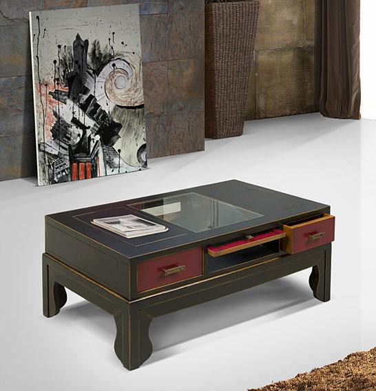 Mesa de centro vintage asia no disponible en for Muebles asia