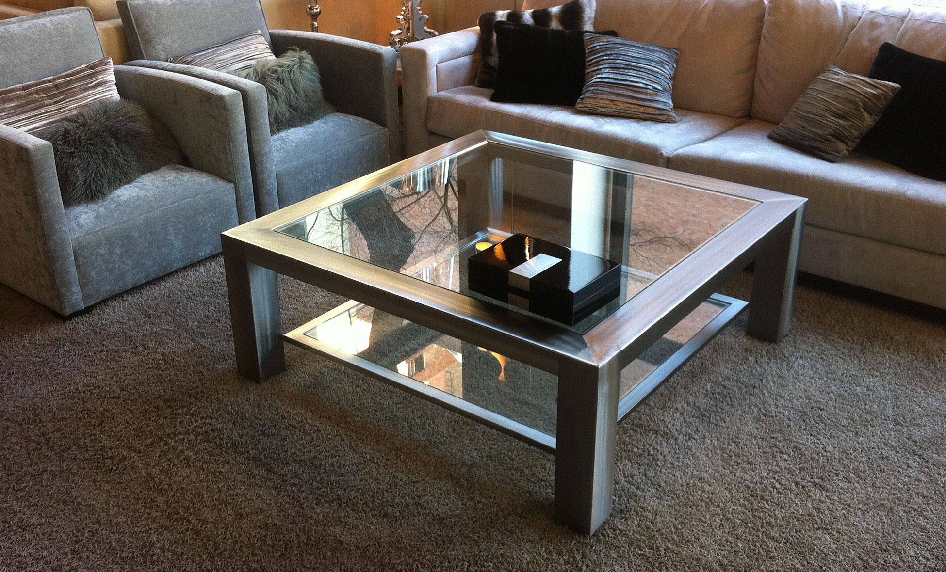 mesas centro diseno mesa de centro arquitecto de acero en la tienda de cabeceros de
