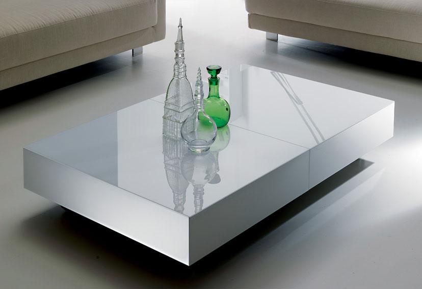 Mesa convertible a comedor moderna box en for Mesas de comedor cuadradas modernas