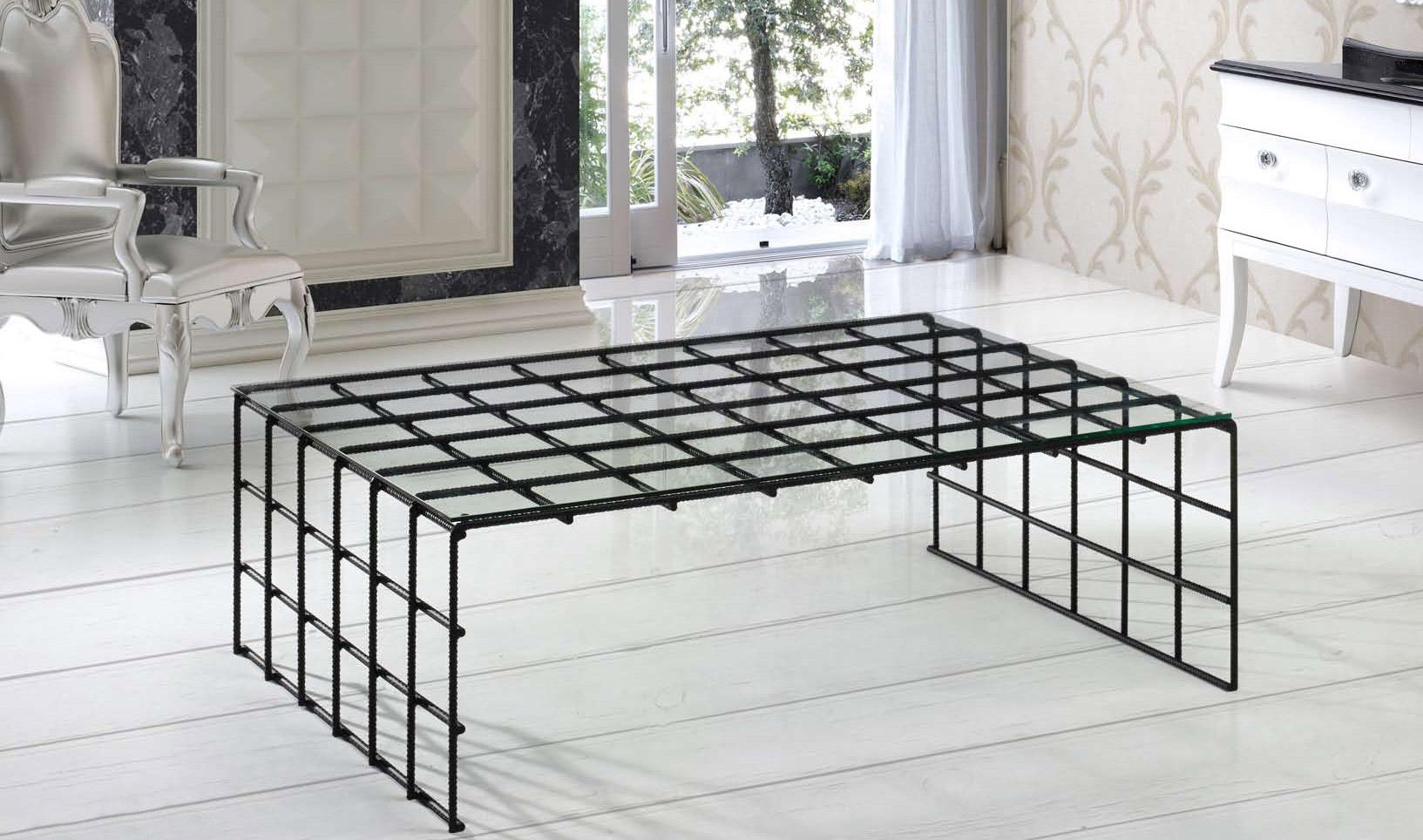 muebles cosas de arquitectos mesa de centro forja ferralla mesas de centro de forja