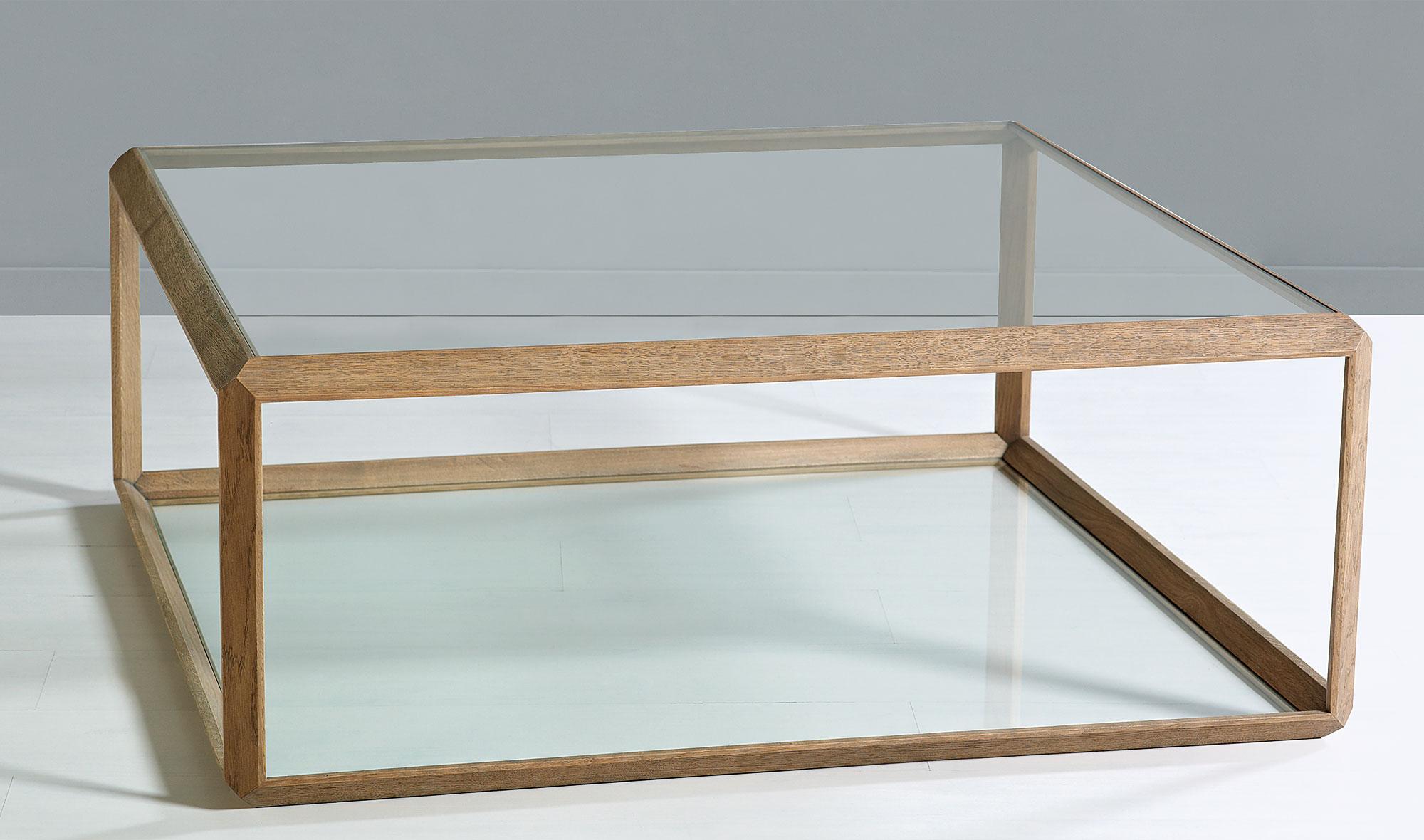 Mesa Centro N Rdica Roble Nature Essence De Lujo En  # Muebles Geometricos
