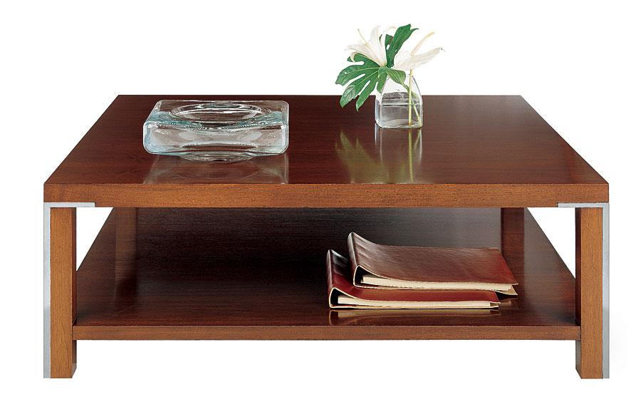 Mesa de centro moderna de madera ii kaila en cosas de - Mesa de centro de madera ...