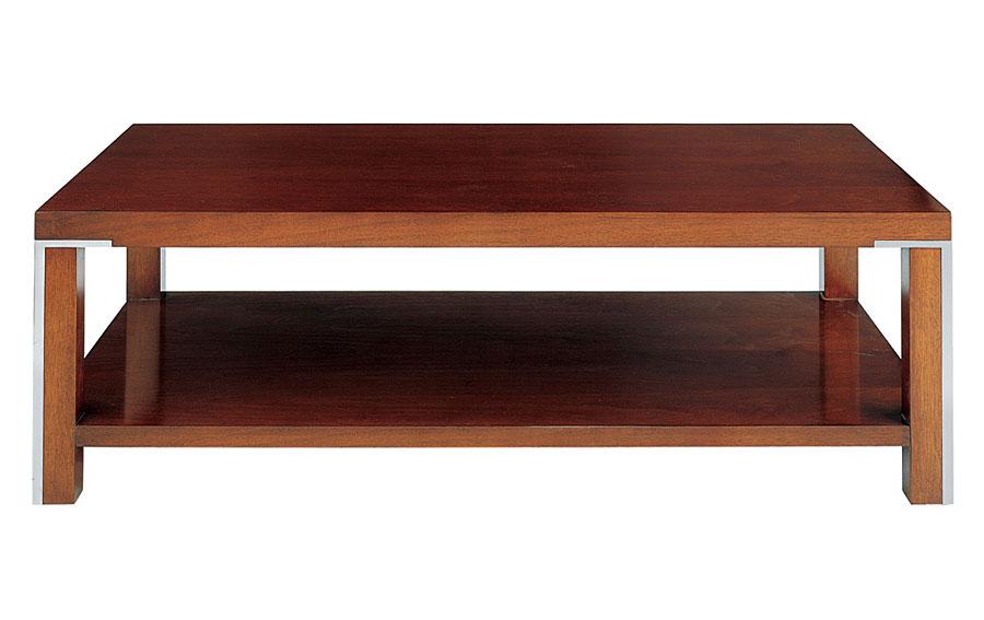 Mesa de centro moderna de madera i en for Muebles comodas modernas