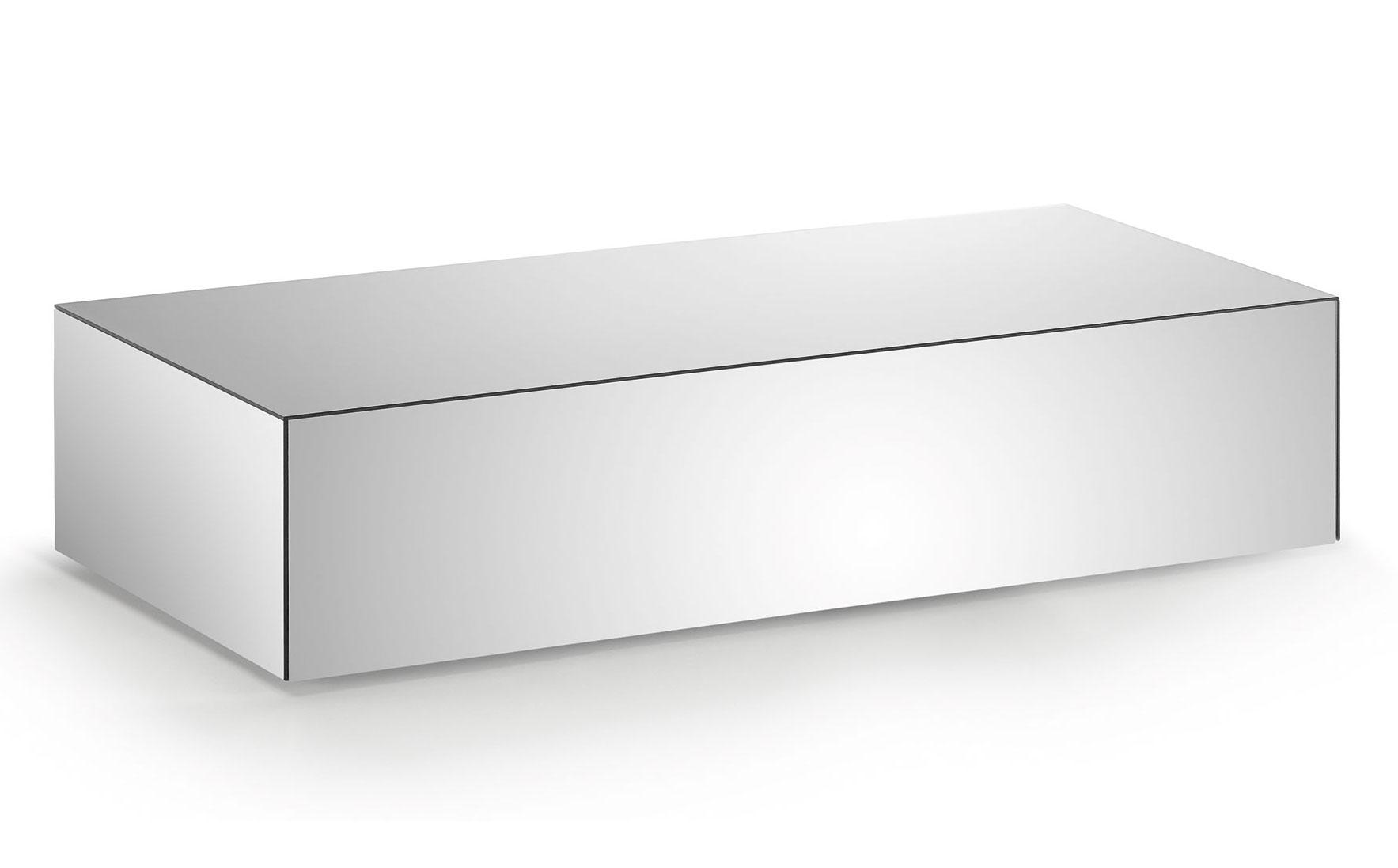 Mesa de centro moderna espejo centor no disponible en for Espejos para mesa