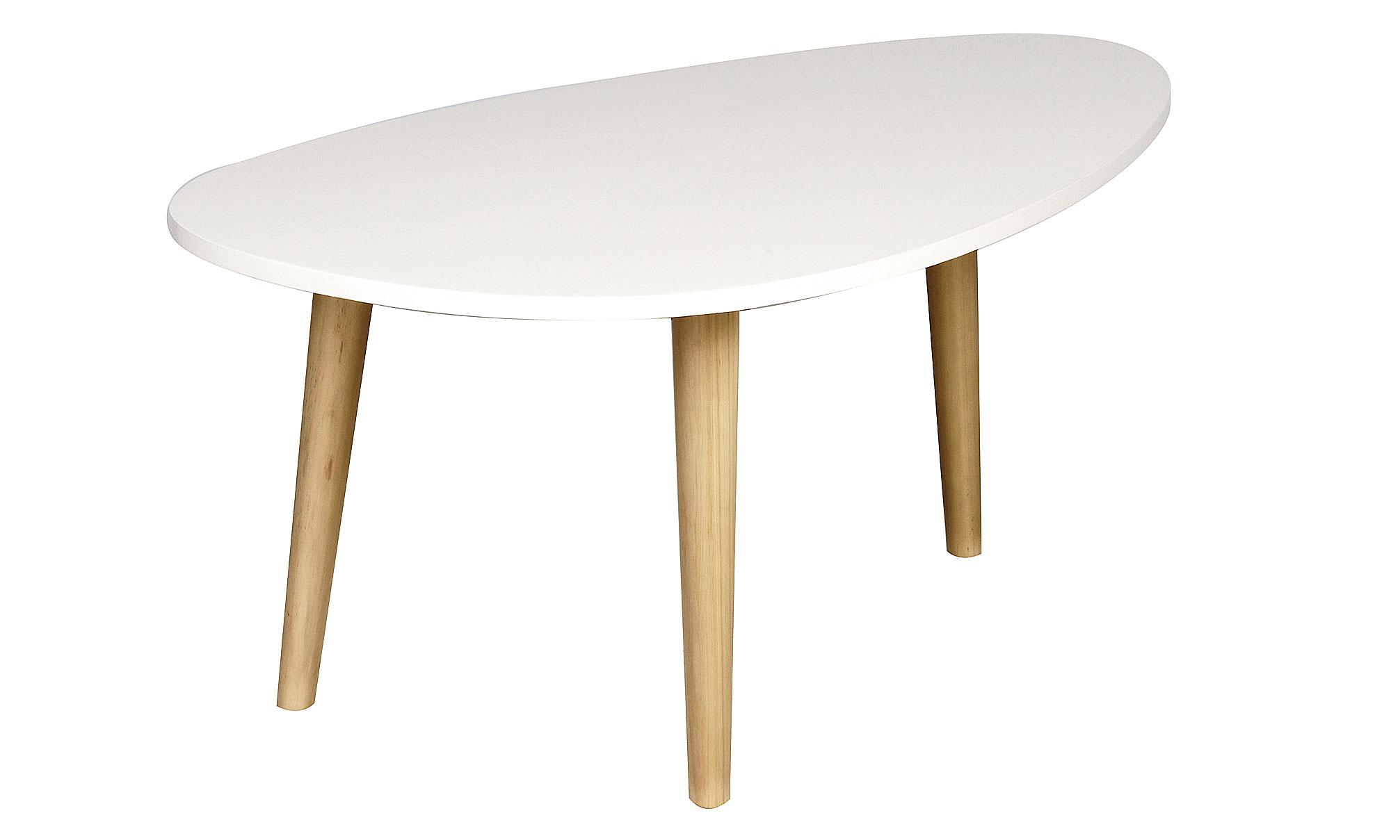 mesa de centro ovalada moderna nordic no disponible en