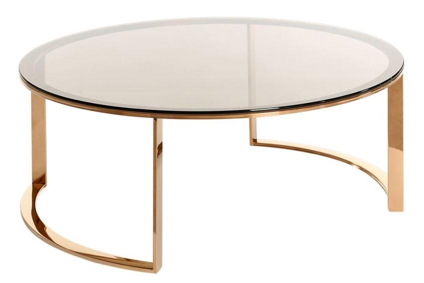 Mesa de centro redonda moderna yamin no disponible en - Mesas modernas de centro ...