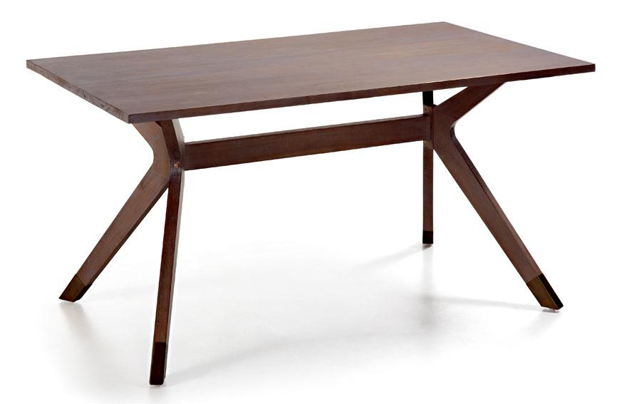 Mesa de comedor colonial spartan de lujo en for Muebles de comedor mesas