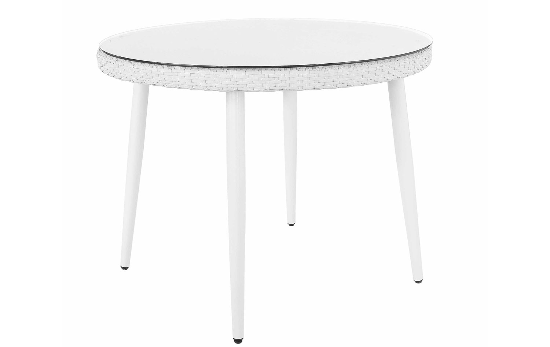 mesa comedor jard n redonda blanca no disponible en