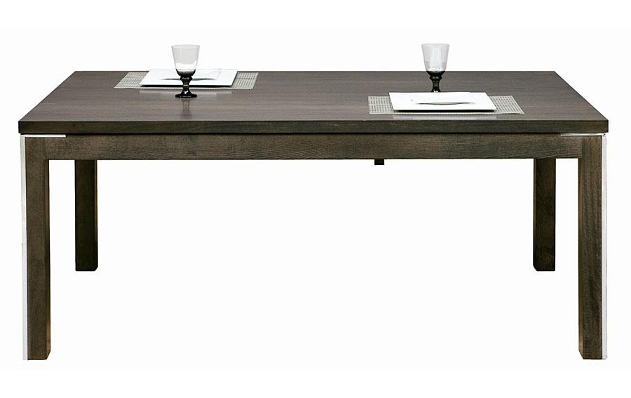 Mesa de comedor de madera moderna en for Muebles comedor madera